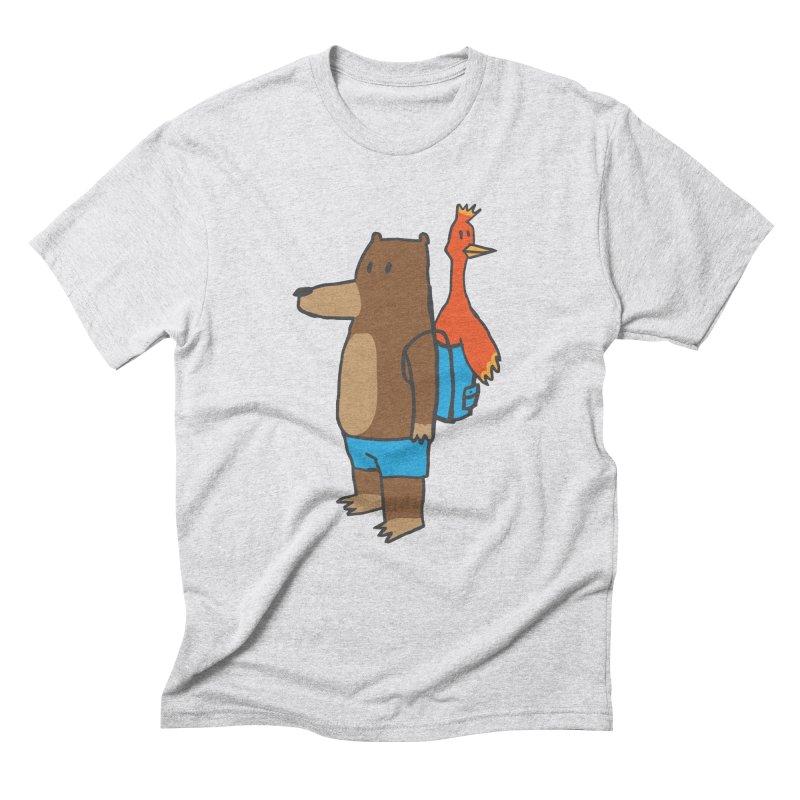 b&k Men's Triblend T-Shirt by Feldir's Weirdness