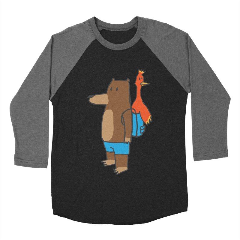b&k Women's Baseball Triblend Longsleeve T-Shirt by Feldir's Weirdness