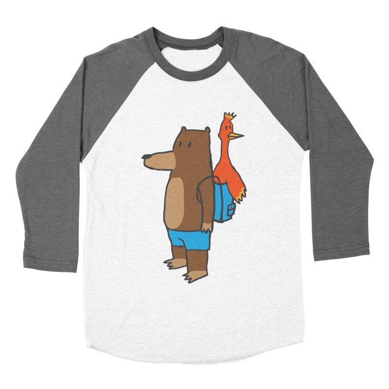 b&k Men's Baseball Triblend Longsleeve T-Shirt by Feldir's Weirdness