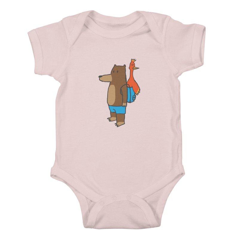 b&k Kids Baby Bodysuit by Feldir's Weirdness