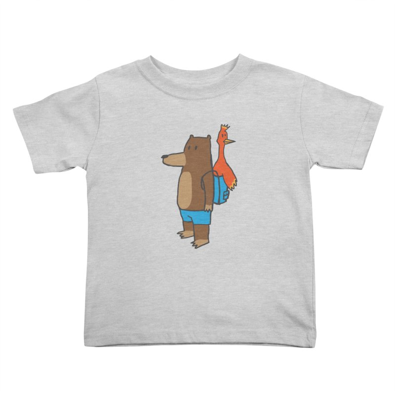b&k Kids Toddler T-Shirt by Feldir's Weirdness