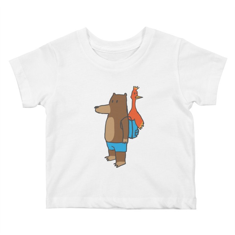 b&k Kids Baby T-Shirt by Feldir's Weirdness