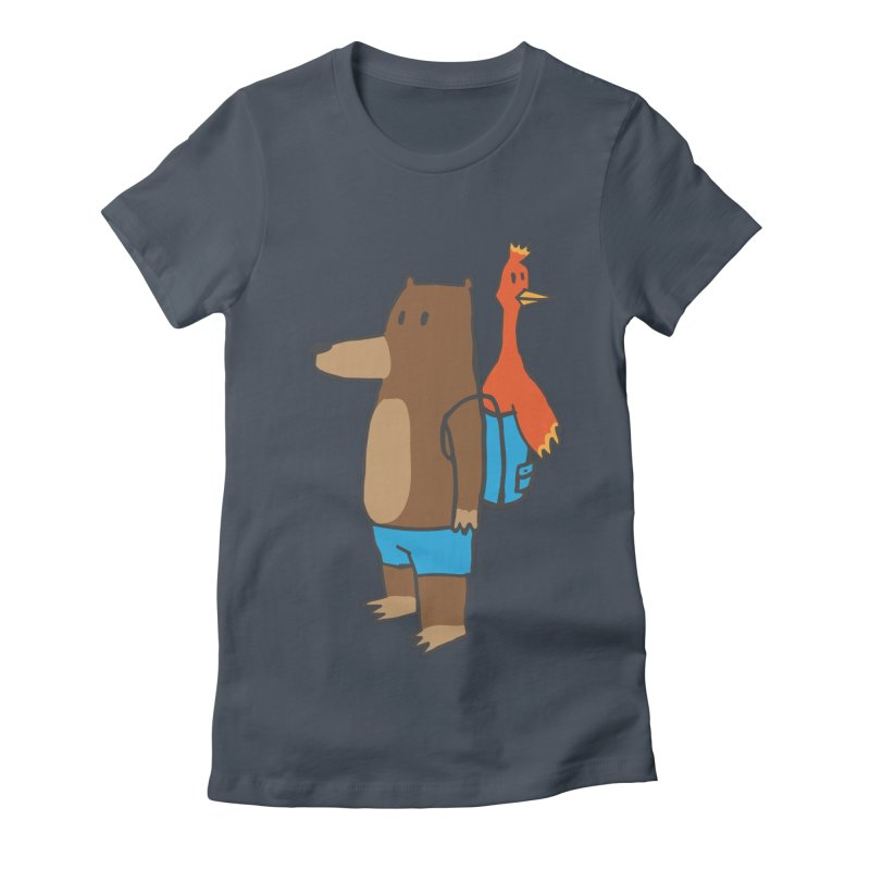 b&k Women's Fitted T-Shirt by Feldir's Weirdness