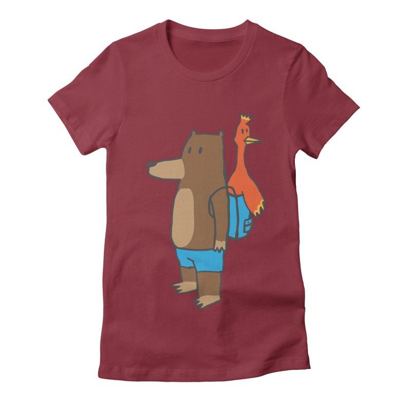 b&k Women's Fitted T-Shirt by Feldir's Weirdness