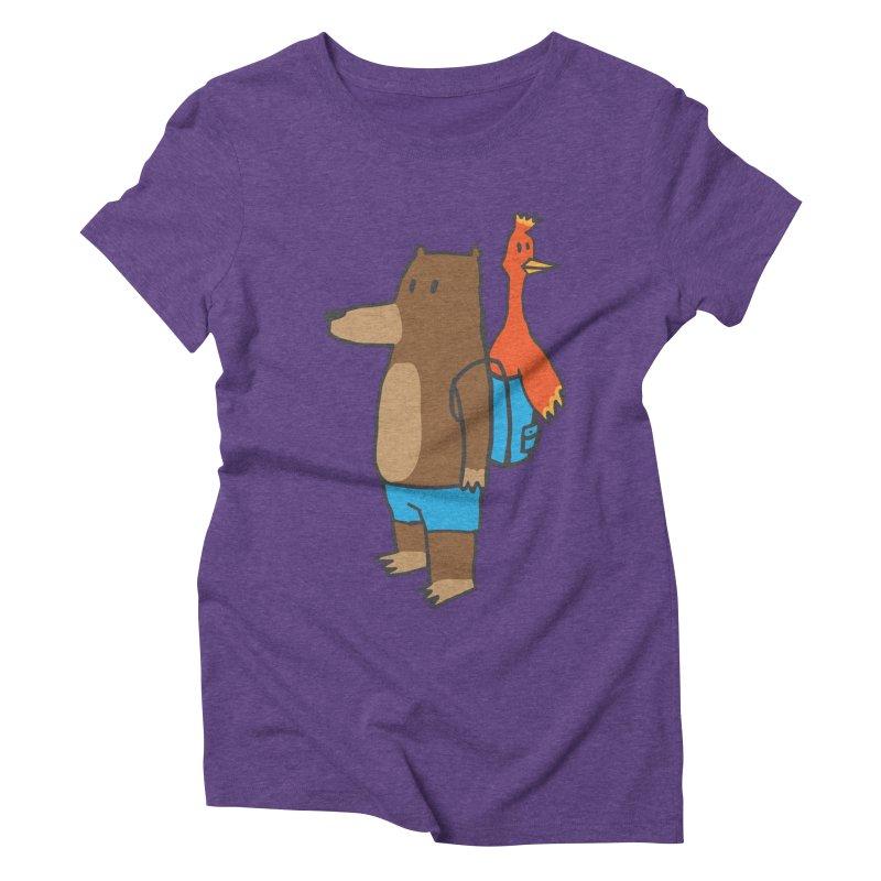 b&k Women's Triblend T-Shirt by Feldir's Weirdness