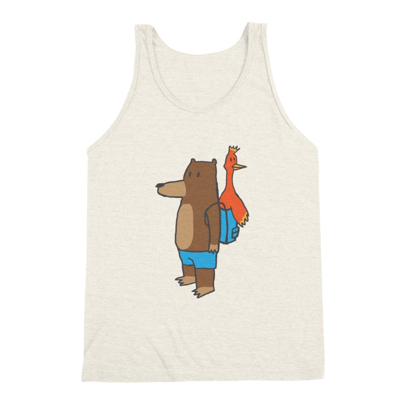 b&k Men's Triblend Tank by Feldir's Weirdness