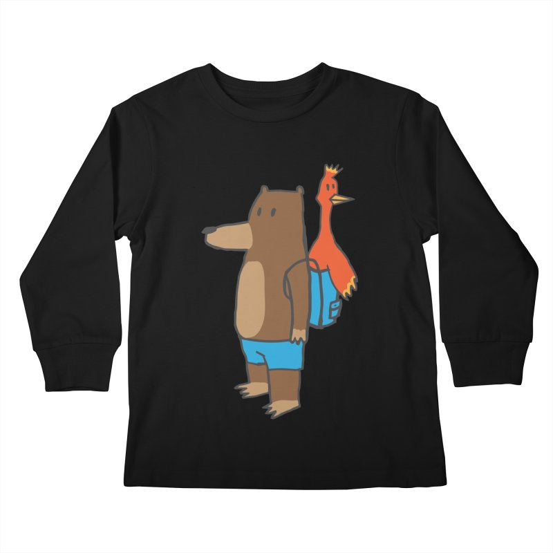 b&k Kids Longsleeve T-Shirt by Feldir's Weirdness
