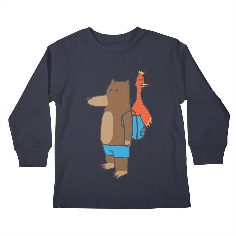 b&k Kids Longsleeve T-Shirt by Feldir's Weirdness