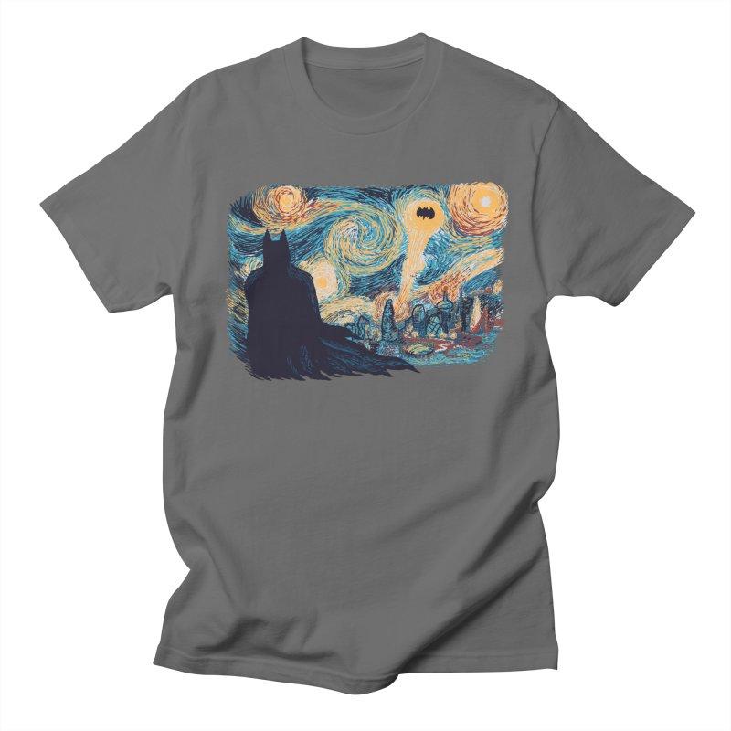 Starry Knight Men's T-Shirt by Feldir's Weirdness