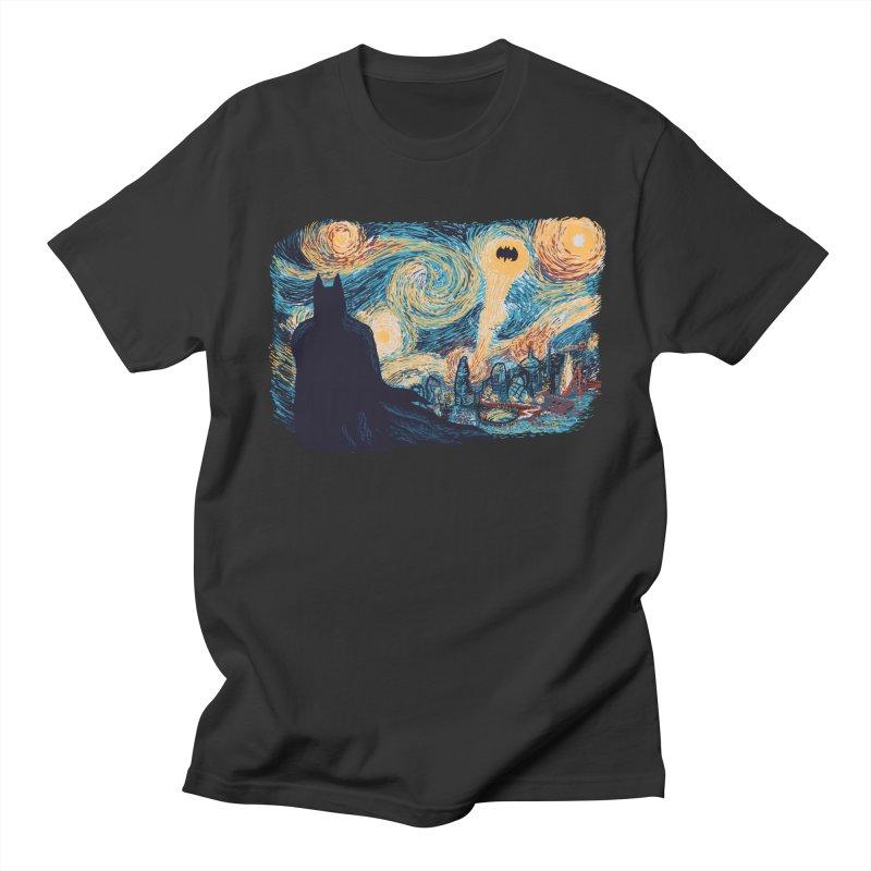 Starry Knight Men's Regular T-Shirt by Feldir's Weirdness