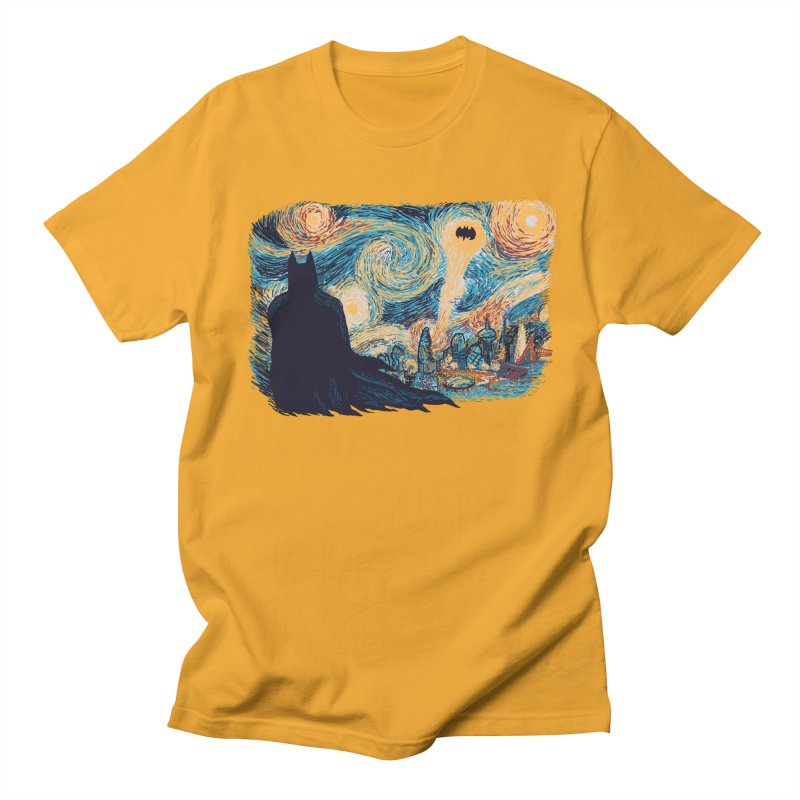 Starry Knight Men's T-Shirt by Feldir's Weirdness