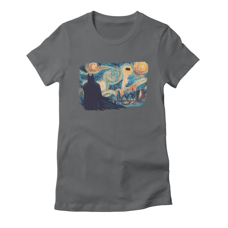 Starry Knight Women's Fitted T-Shirt by Feldir's Weirdness