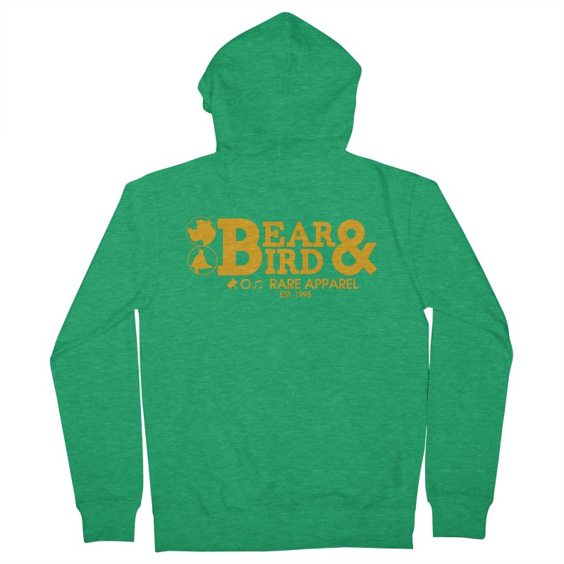 Bear & Bird Apparel Women's French Terry Zip-Up Hoody by Feldir's Weirdness