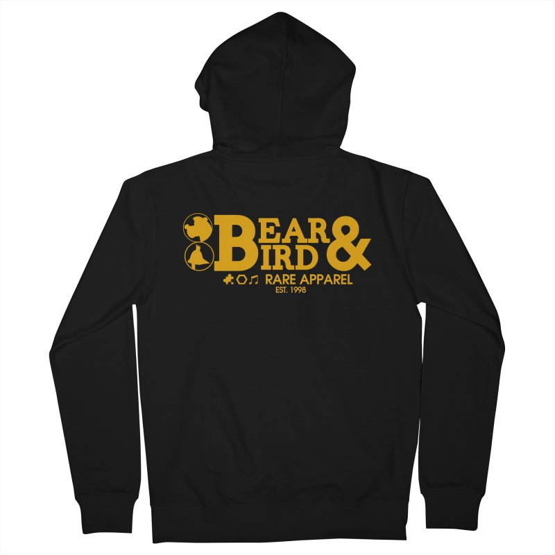 Bear & Bird Apparel Men's French Terry Zip-Up Hoody by Feldir's Weirdness