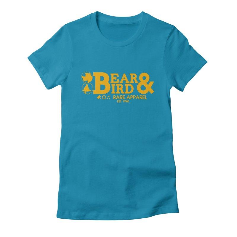Bear & Bird Apparel Women's Fitted T-Shirt by Feldir's Weirdness