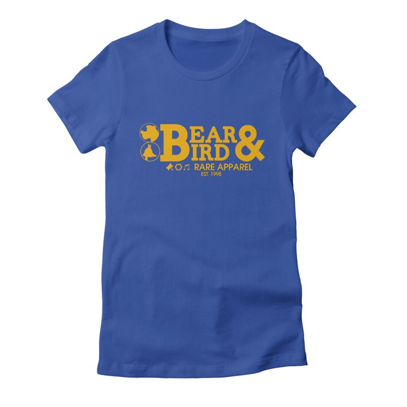 Bear & Bird Apparel Women's Fitted T-Shirt by Feldir's Weirdness