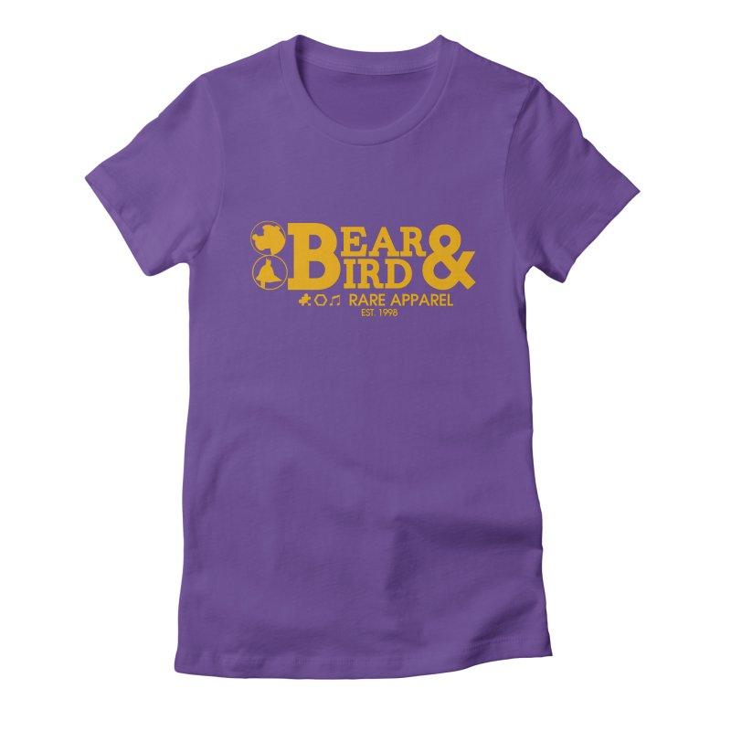 Bear & Bird Apparel Women's Fitted T-Shirt by Feldir's Artist Shop