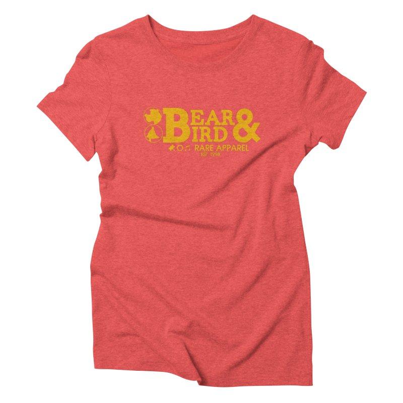 Bear & Bird Apparel Women's Triblend T-Shirt by Feldir's Weirdness