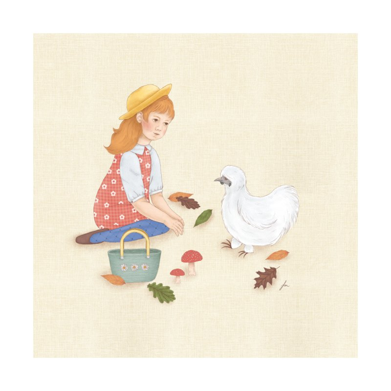 Autumn Home Fine Art Print by felicity.make.peace