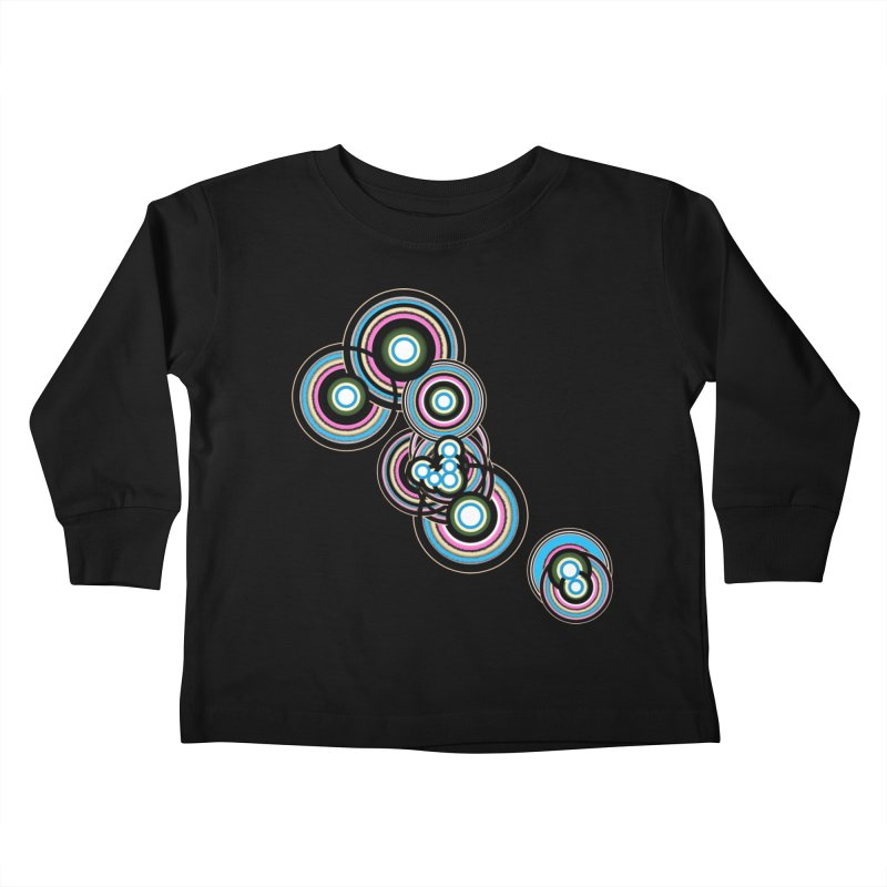 TAURUS Kids Toddler Longsleeve T-Shirt by Felix Culpa Designs