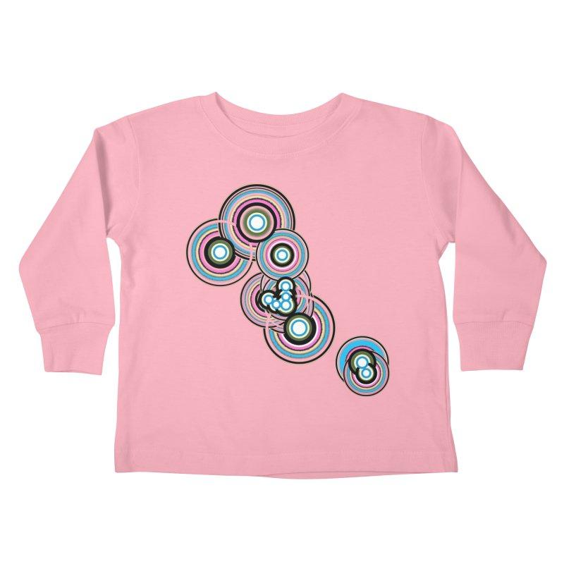 TAURUS Kids Toddler Longsleeve T-Shirt by Felix Culpa Designs