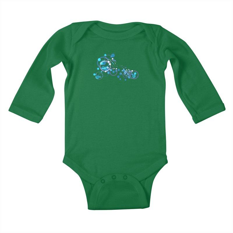 PISCES Kids Baby Longsleeve Bodysuit by Felix Culpa Designs