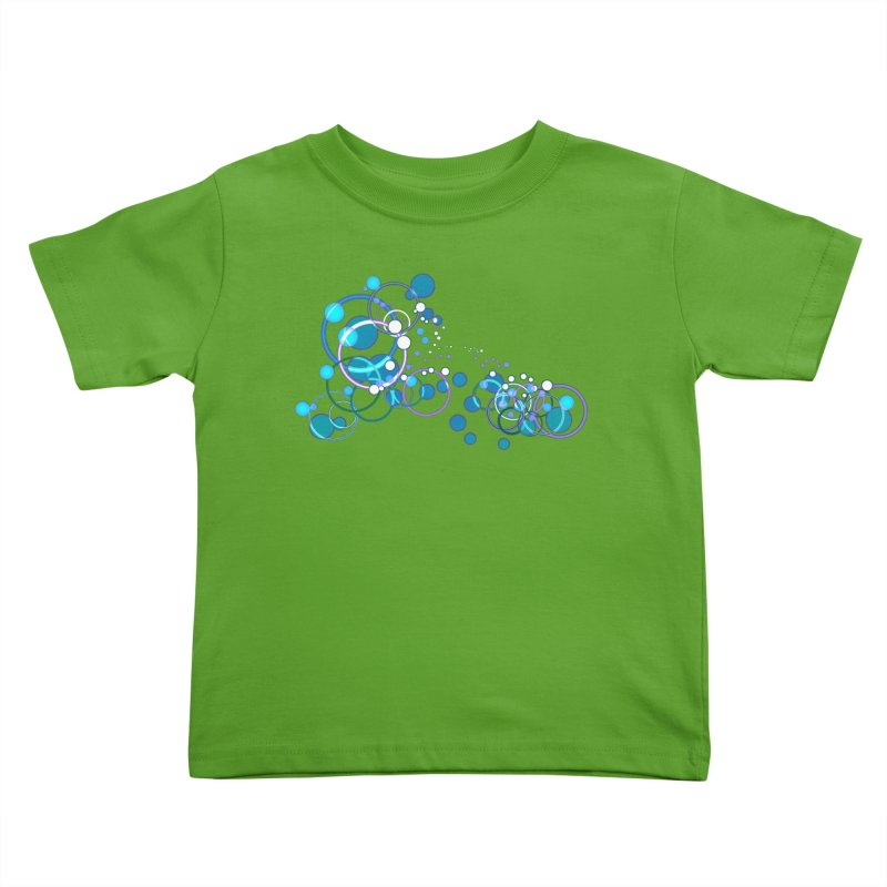 PISCES Kids Toddler T-Shirt by Felix Culpa Designs