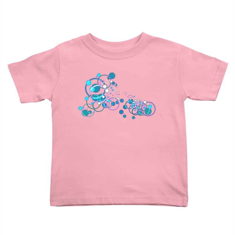 PISCES Kids Toddler T-Shirt by Felix Culpa Designs