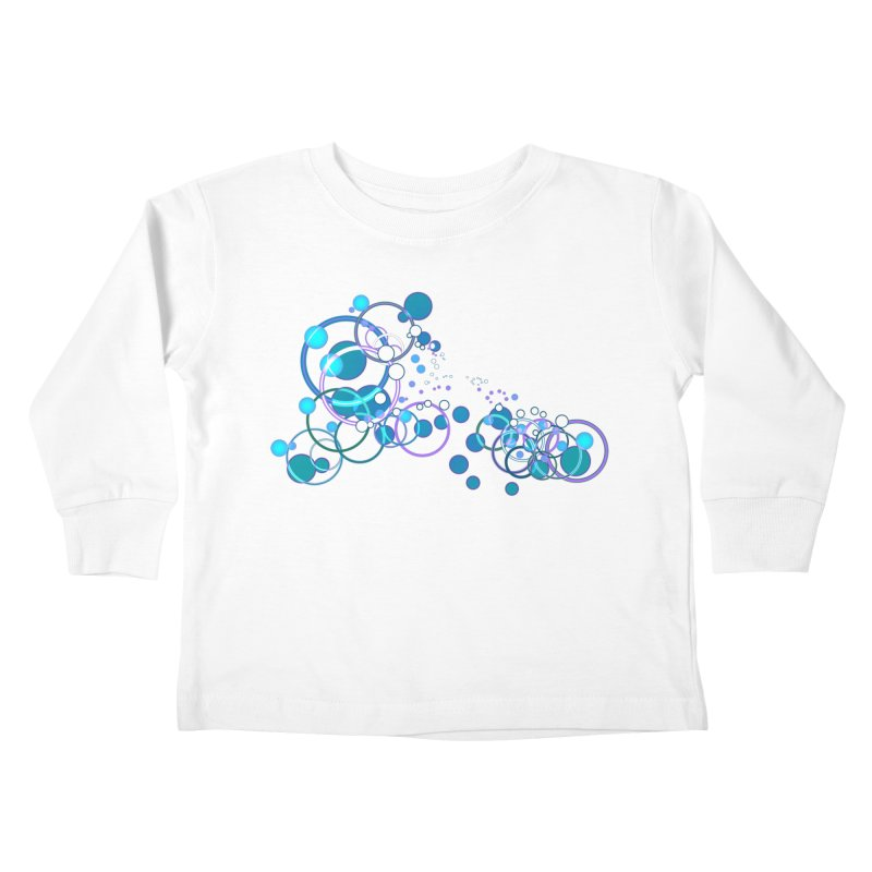 PISCES Kids Toddler Longsleeve T-Shirt by Felix Culpa Designs