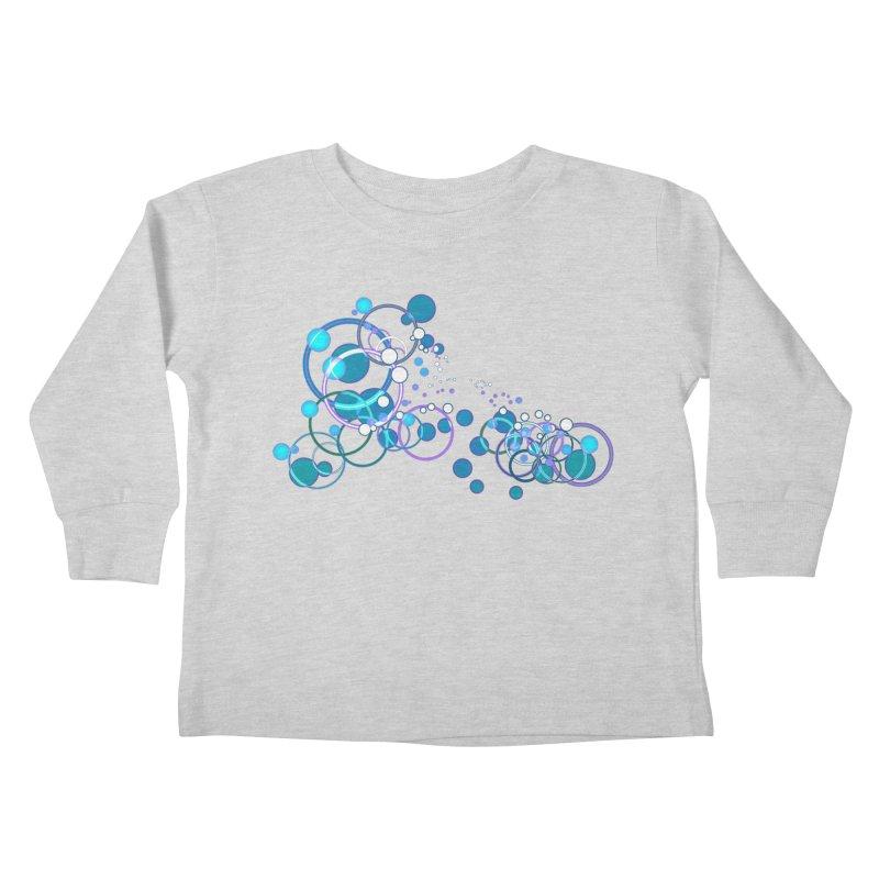 PISCES Kids Toddler Longsleeve T-Shirt by Felix Culpa Designs