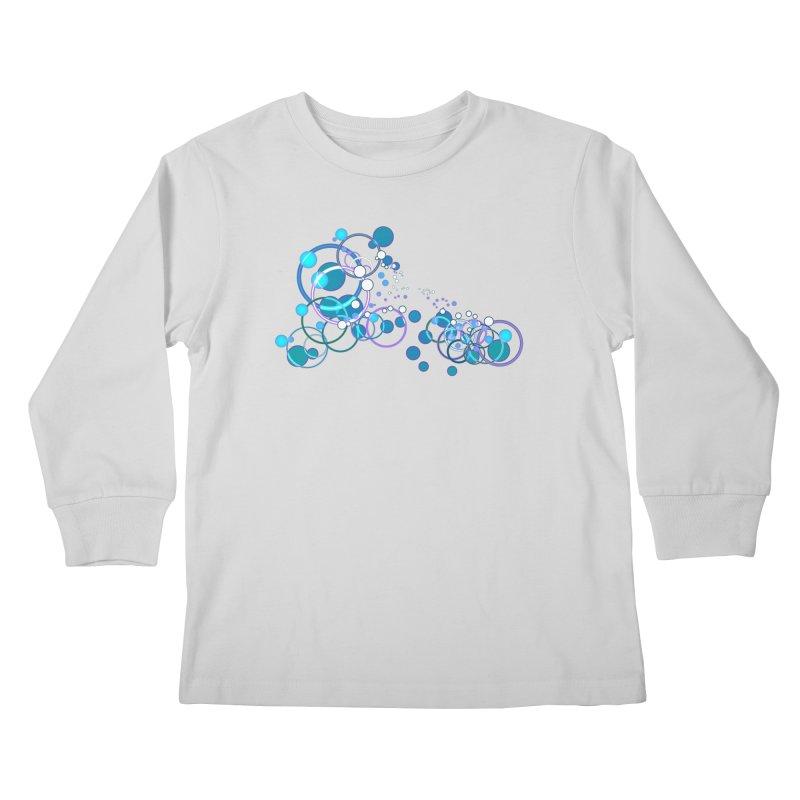 PISCES Kids Longsleeve T-Shirt by Felix Culpa Designs