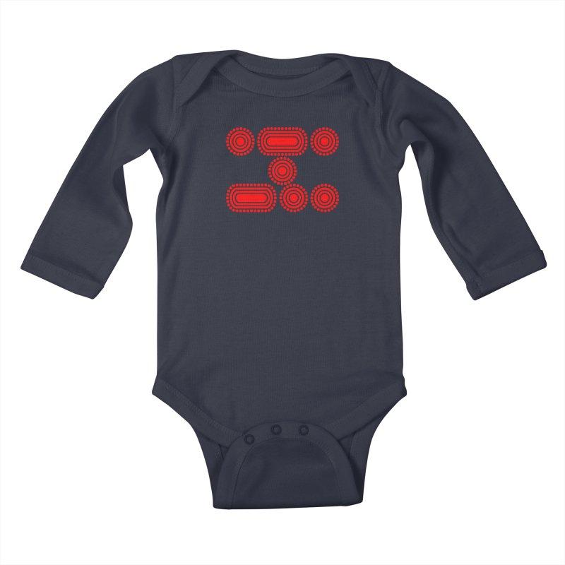 CODE RED Kids Baby Longsleeve Bodysuit by Felix Culpa Designs