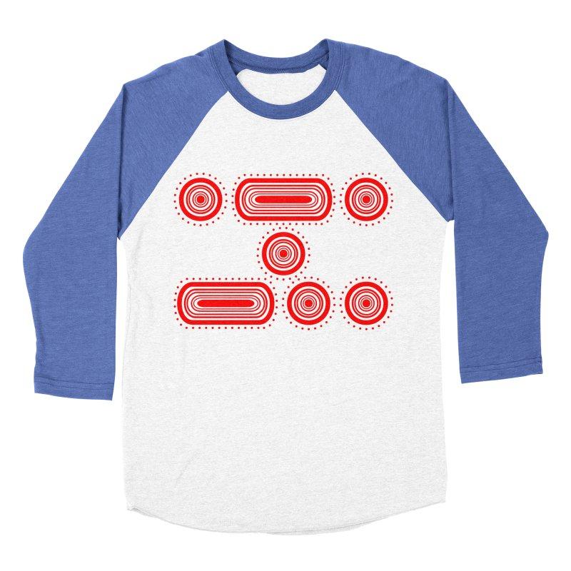 CODE RED Women's Baseball Triblend Longsleeve T-Shirt by Felix Culpa Designs