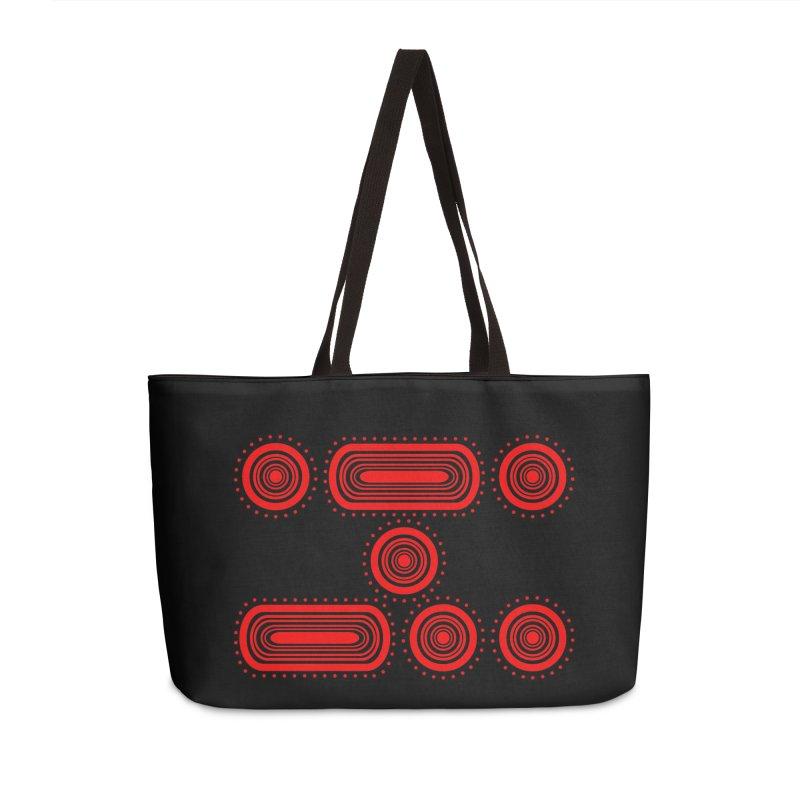 CODE RED Accessories Weekender Bag Bag by Felix Culpa Designs