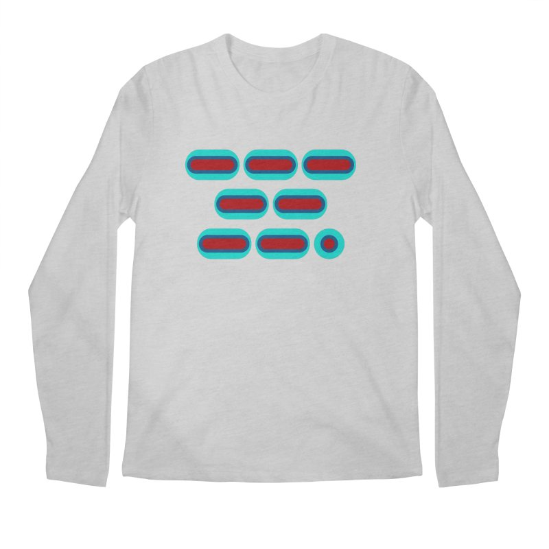 OMG (red/blue) Men's Regular Longsleeve T-Shirt by Felix Culpa Designs