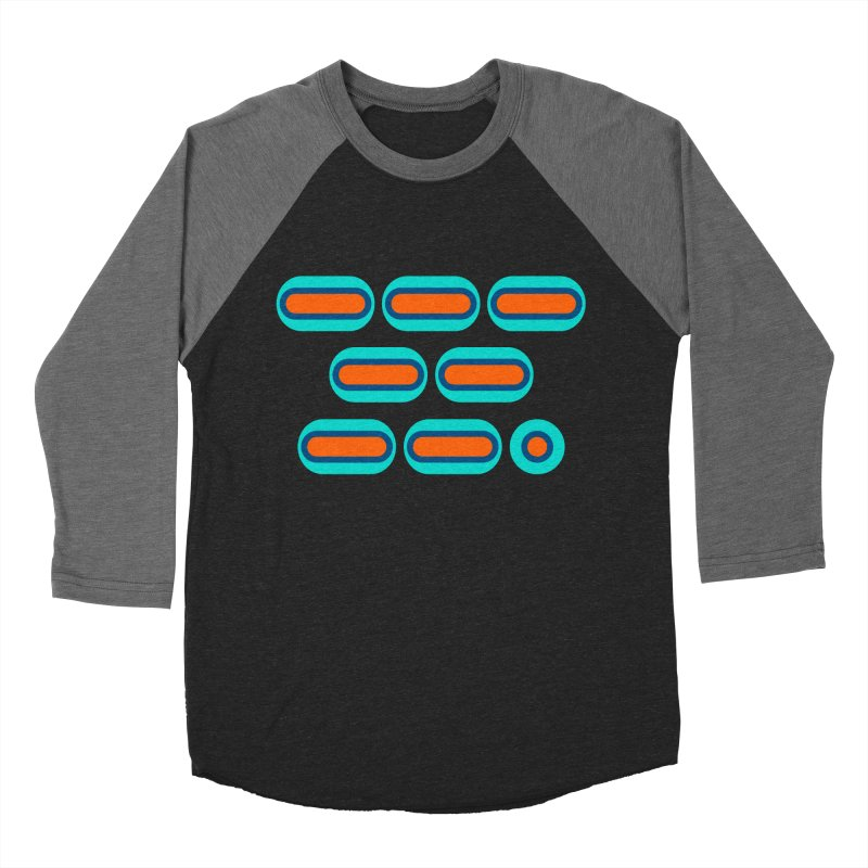 OMG (orange/blue) Women's Baseball Triblend Longsleeve T-Shirt by Felix Culpa Designs
