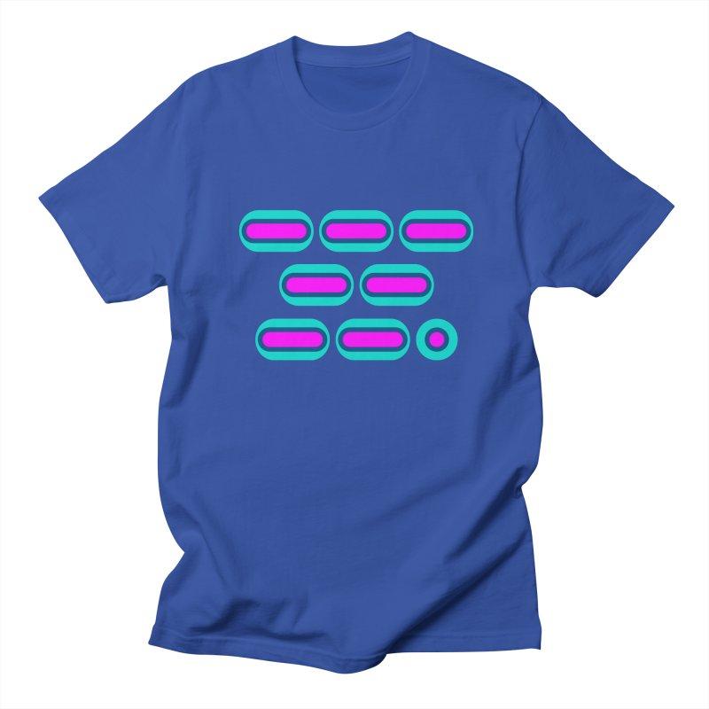 OMG (pink/blue) Men's Regular T-Shirt by Felix Culpa Designs
