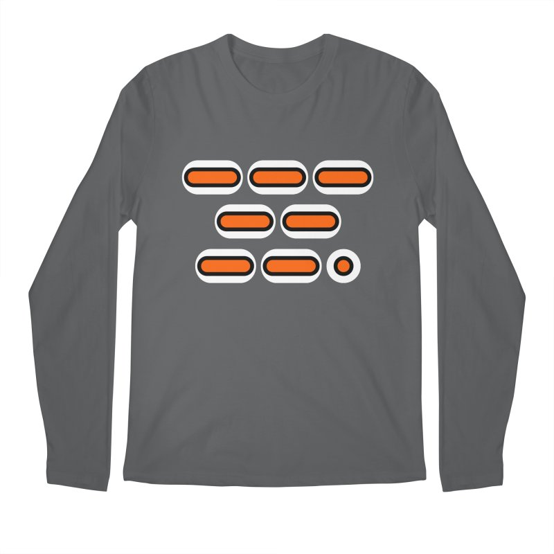OMG (orange/black/white) Men's Regular Longsleeve T-Shirt by Felix Culpa Designs