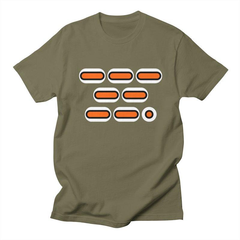 OMG (orange/black/white) Men's Regular T-Shirt by Felix Culpa Designs