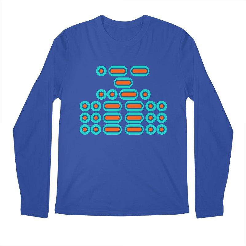 WTF??? (orange/blue) Men's Regular Longsleeve T-Shirt by Felix Culpa Designs
