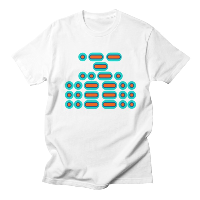 WTF??? (orange/blue) Men's Regular T-Shirt by Felix Culpa Designs