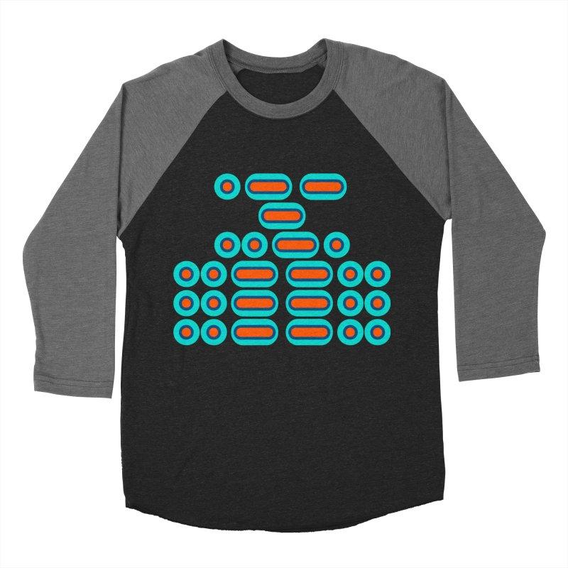 WTF??? (orange/blue) Women's Baseball Triblend Longsleeve T-Shirt by Felix Culpa Designs