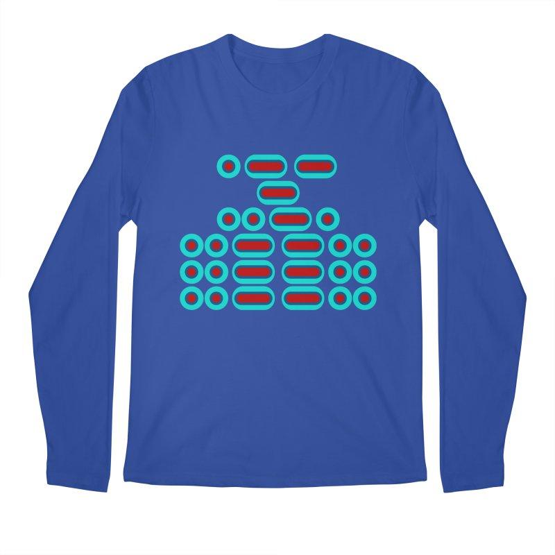 WTF??? (red/blue) Men's Regular Longsleeve T-Shirt by Felix Culpa Designs