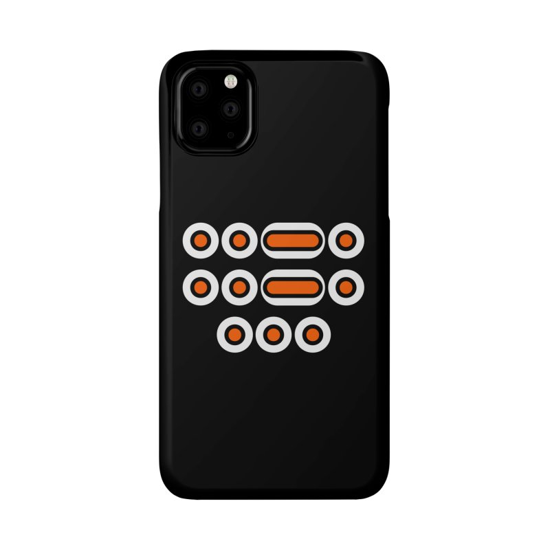 FFS (orange/black/white) Accessories Phone Case by Felix Culpa Designs