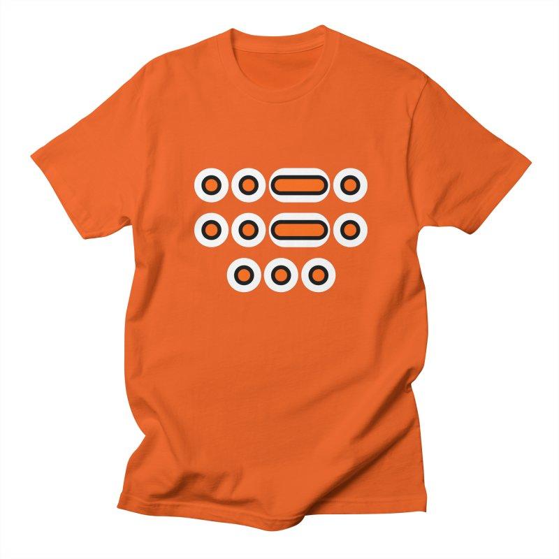 FFS (orange/black/white) Men's Regular T-Shirt by Felix Culpa Designs
