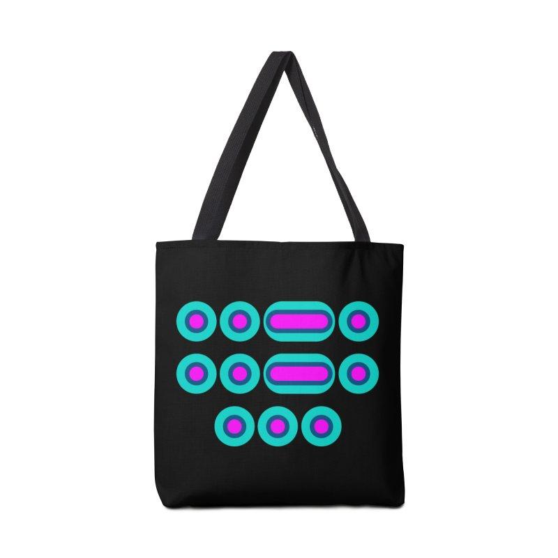 FFS (pink/blue) Accessories Bag by Felix Culpa Designs