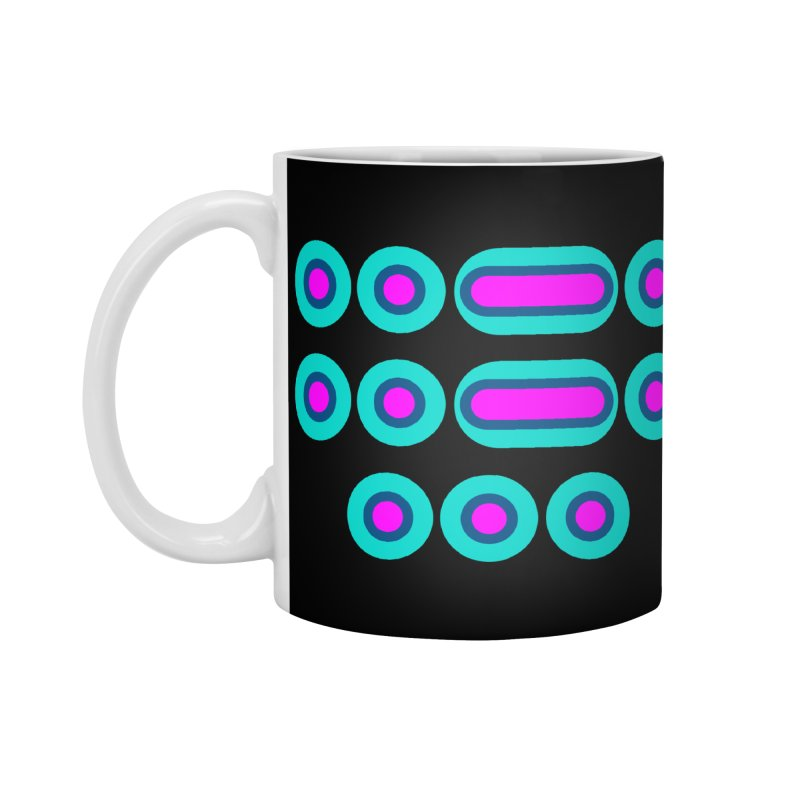 FFS (pink/blue) Accessories Standard Mug by Felix Culpa Designs