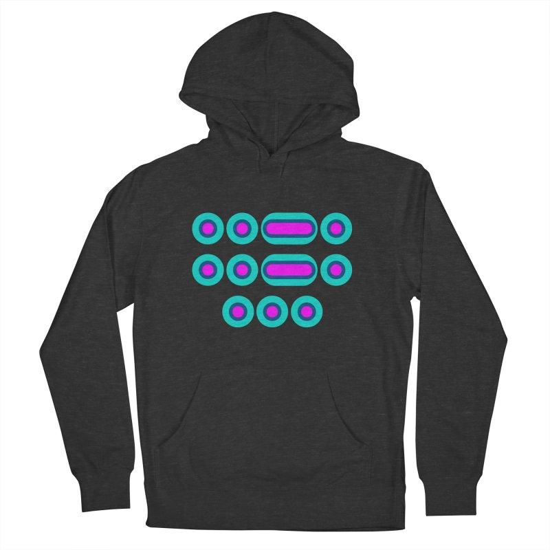 FFS (pink/blue) Women's French Terry Pullover Hoody by Felix Culpa Designs