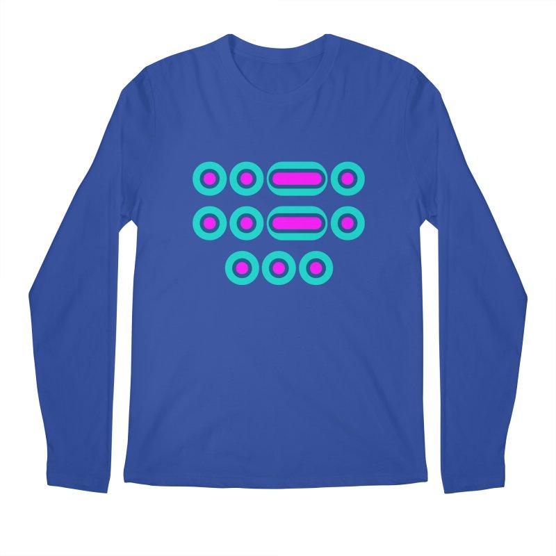 FFS (pink/blue) Men's Regular Longsleeve T-Shirt by Felix Culpa Designs