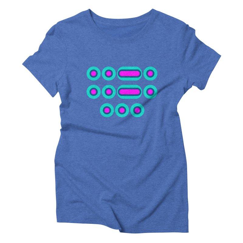 FFS (pink/blue) Women's Triblend T-Shirt by Felix Culpa Designs